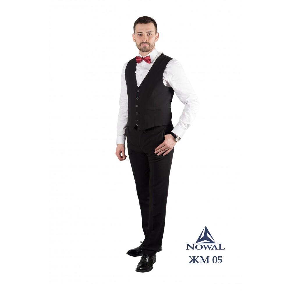 Жилетка мужская молодёжная Super Slim Fit ЖМ 05