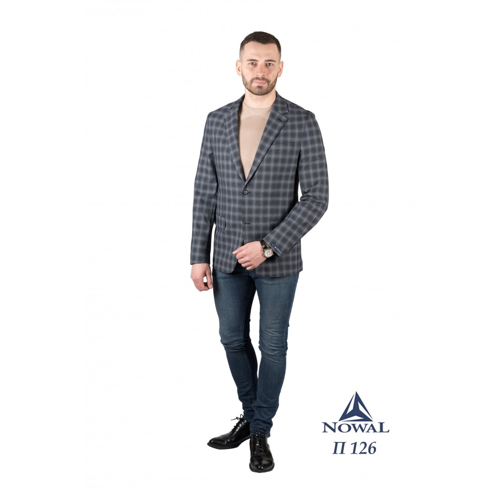 Пиджак мужской молодёжный Slim Fit П 126