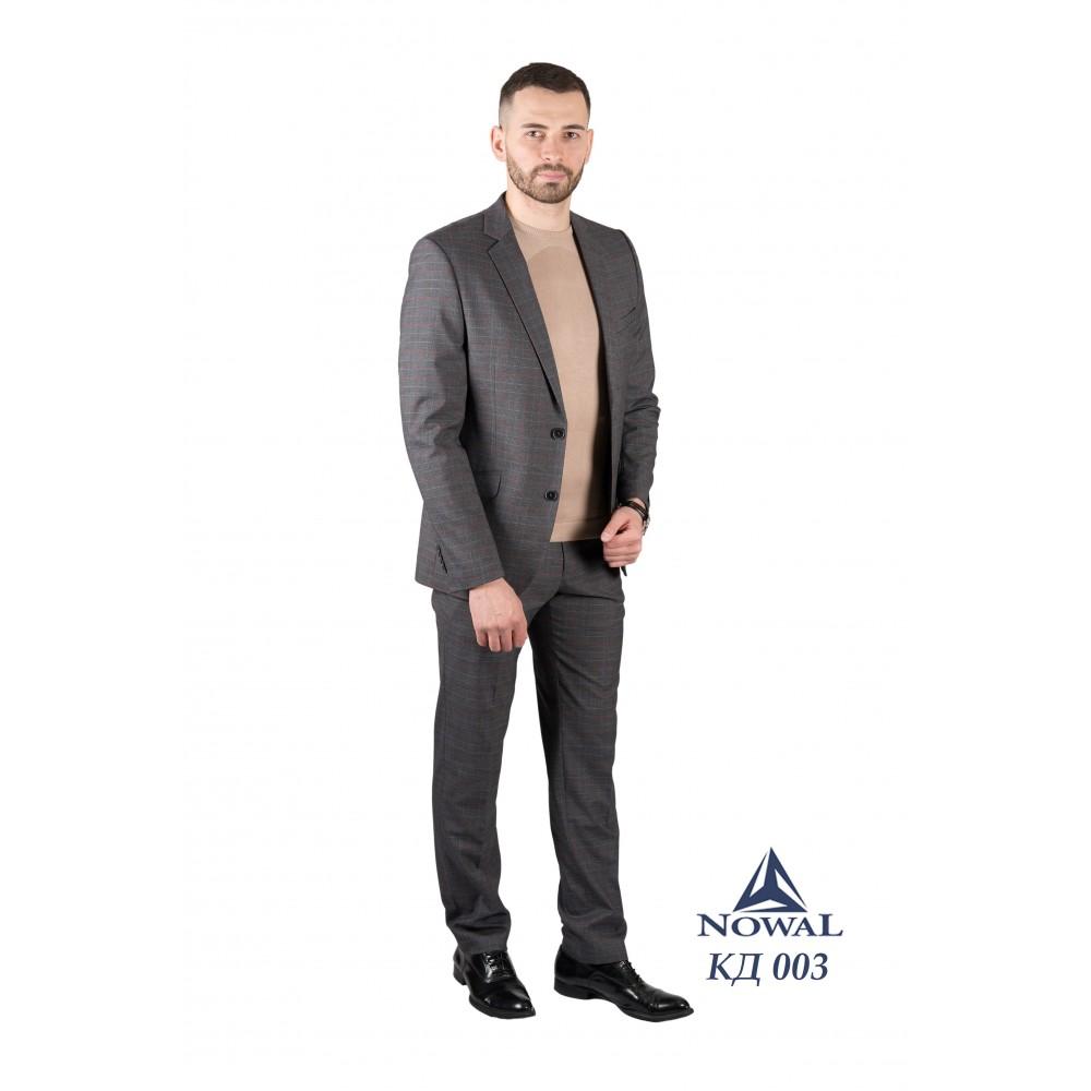 Мужской костюм классический молодёжный Super Slim Fit КД 003