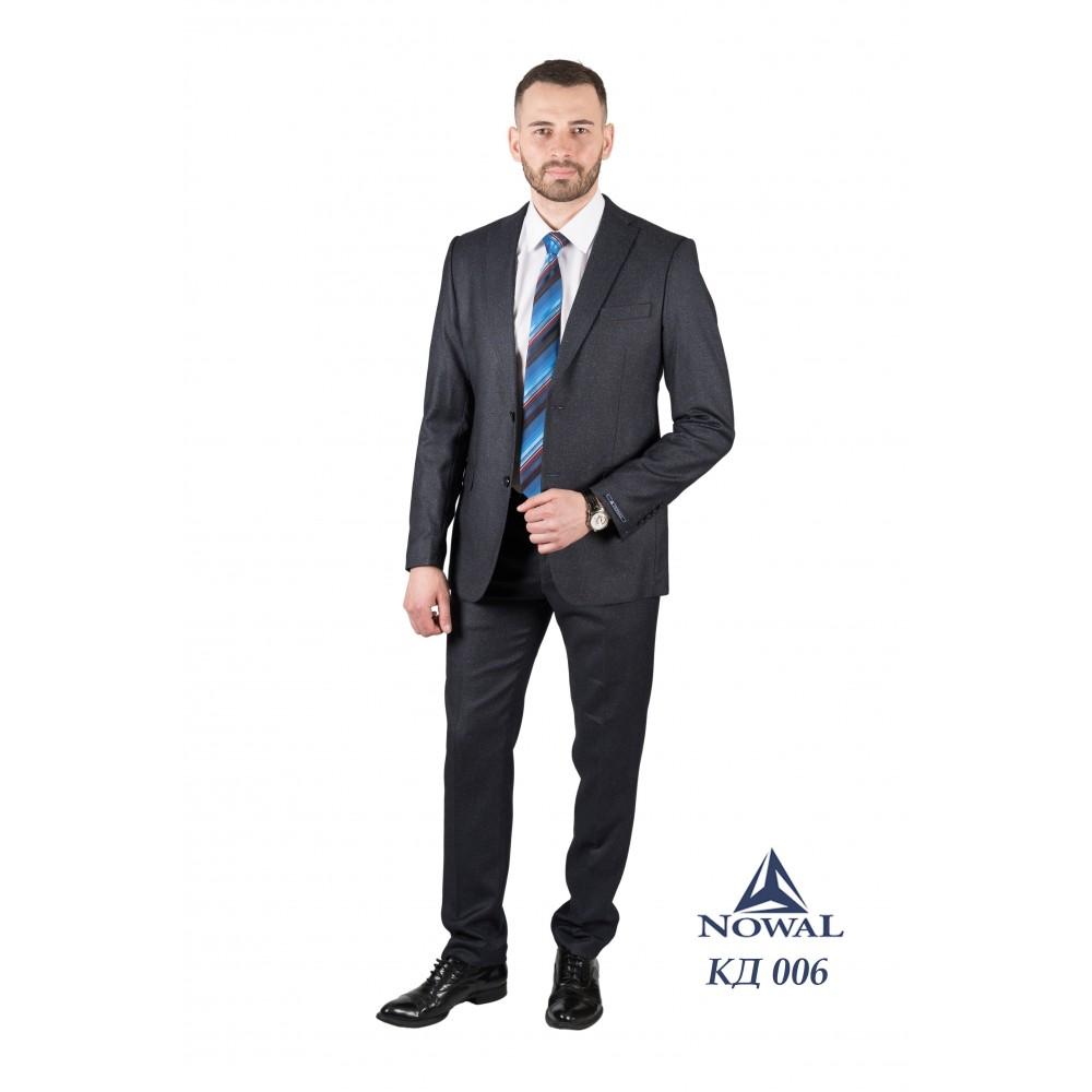 Мужской костюм классический молодёжный Super Slim Fit КД 006